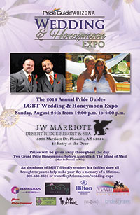 Arizona LGBT Wedding & Honeymoon Expo August 24th, 2014