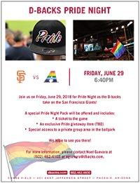 D-backs Pride Night