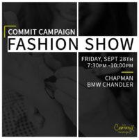 4th Annual Commit Campaign Fashion Show