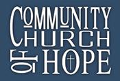 CommunityChurchofHope