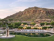 The Phoenician Resort - Overview from the Casita Lawn Scottsdale, Arizona USA